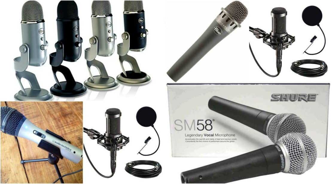 Wireless Condenser Microphone Wind Filter Mic Kit Headset Stage Dynamic Audio