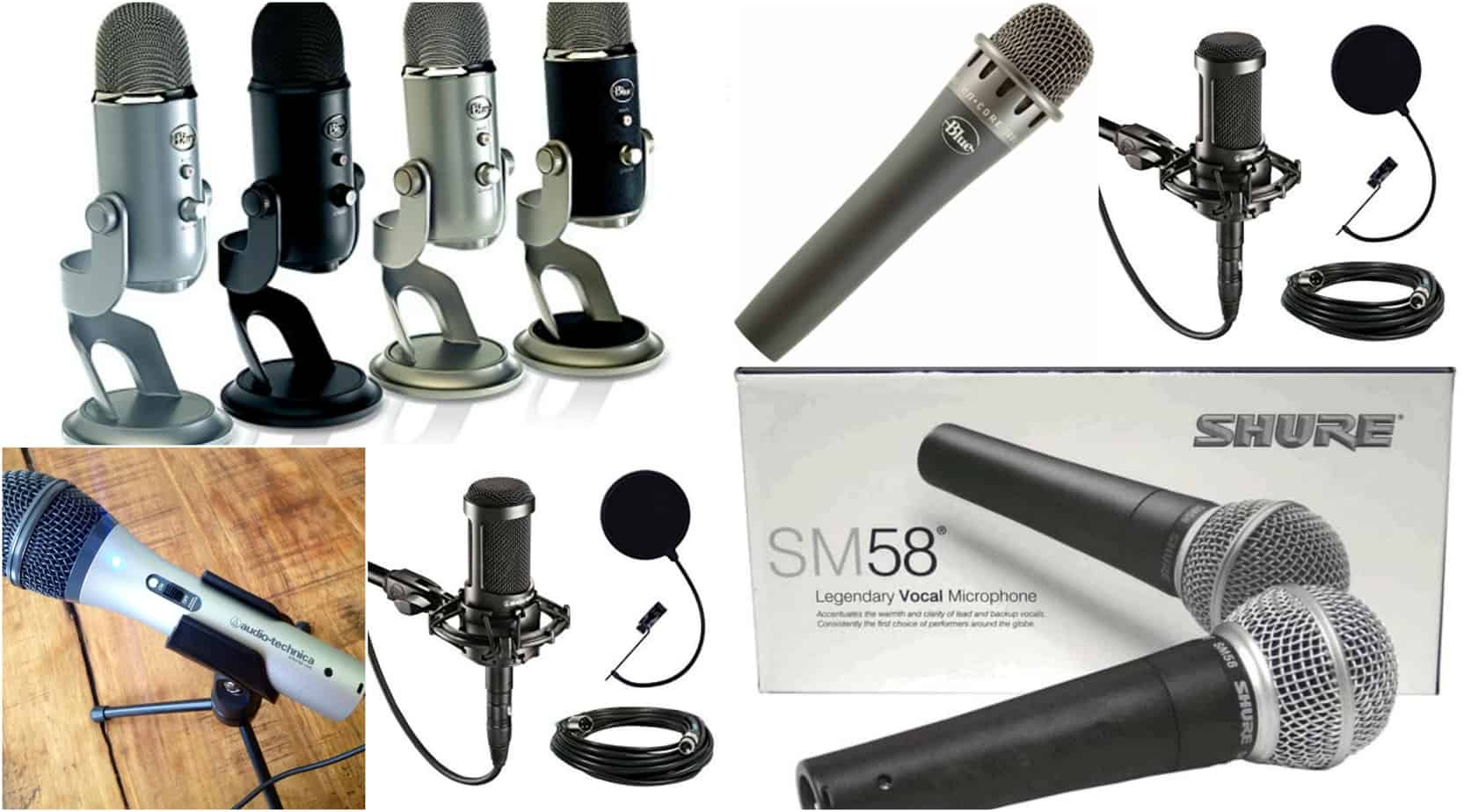 25 Of The Best Podcast Microphones Discover Podcasts Noise Filter For Stereo System Dynamic Typically Provide A More Vibrant Sound With Casual Feel And Condenser Are Usually Clear But Can Pick Up Ambient