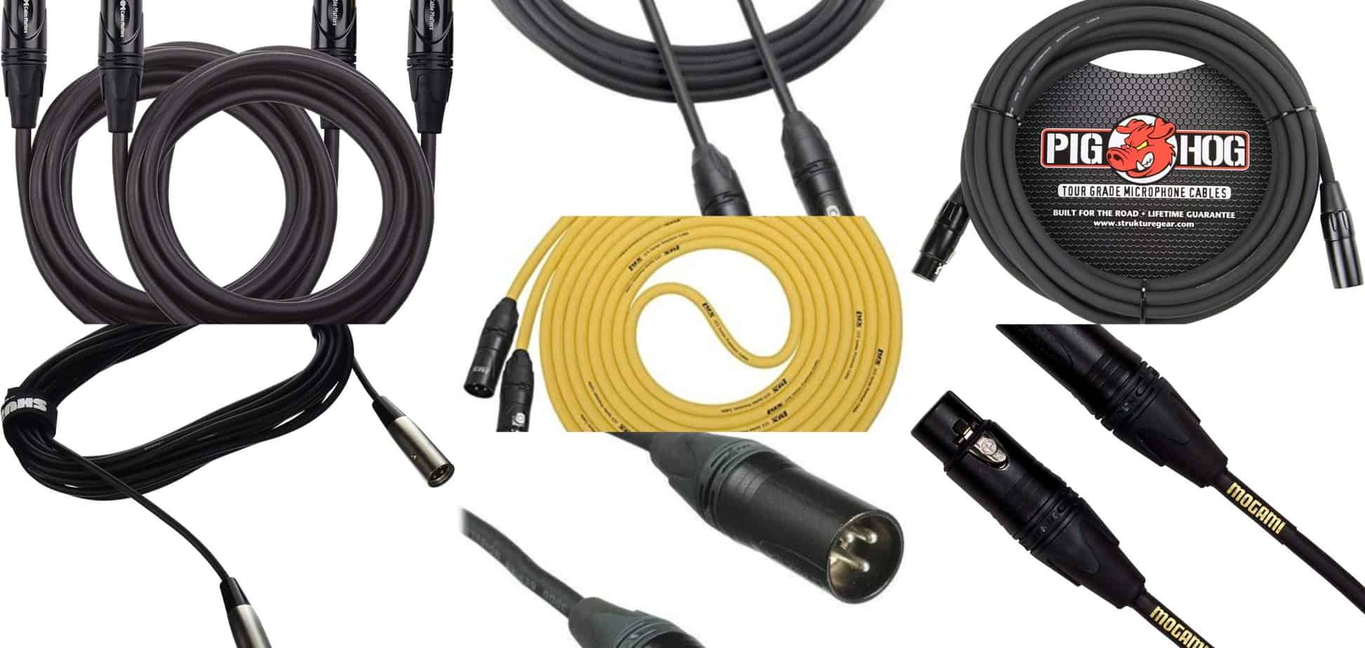 xlr cables scaled